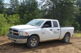 DODGE (2013) RAM 1500 EXTENDED CAB PICKUP TRUCK WITH 4.7LITER GAS ENGINE, AUTO TRANSMISSION, 4X4,
