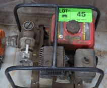 GAS POWERED UTILITY WATER PUMP, S/N N/A