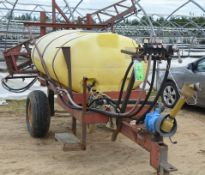 WEST JOVAN TRAILER MOUNTED SPRAYER WITH 500GAL CAPACITY TANK, PTO DRIVEN PUMP, S/N VIN N/A (FARM
