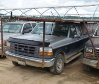 FORD (1993) F150XL PICKUP TRUCK WITH ROOFTOP WORK PLATFORM, S/N VIN 1FTEX14N8PKB08863 (OFF ROAD ONLY