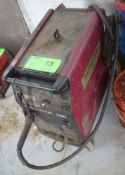 THERMAL ARC FABRICATOR 250 PORTABLE MIG WELDER WITH CABLES AND GUN, S/N N/A