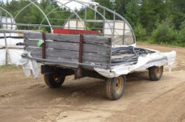 ARTIS 8'X20' FARM FLAT DECK TRAILER, S/N VIN N/A (FARM TRAILER - NOT PLATED)