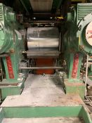 """BOLLING 2 ROLL MILL WITH 24""""X 20"""" OD CORED ROLLS, UNITIZED CONSTRUCTION, BULL GEAR AND RACK AND"""