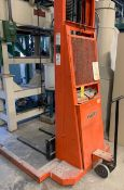 PRESTO PST 1127-50 PALLET MOVER WITH 1500 LB. CAPACITY, S/N: 72215 [RIGGING FEES FOR LOT #46 - $1500