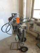 NORDSON MODEL 25-B HYDRAULIC PUMP LIQUID SPRAYER [RIGGING FEES FOR LOT #2 - $50 USD PLUS