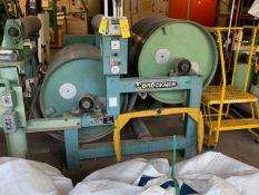 """BRUCKNER 2 ROLL COOLING ASSEMBLY WITH 31""""W X 32"""" OD ROLLS, S/N: 73711 (CI) [RIGGING FEES FOR LOT #61"""