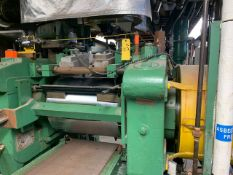 """BOLLING 2 ROLL MILL WITH 24""""X 20"""" OD CORED ROLLS, UNITIZED CONSTRUCTION, DIRECT CONNECT TO GEARBOX"""