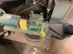 """2"""" CRAMMER FEEDER WITH STAINLESS STEEL HOPPER, 1 HP MOTOR [RIGGING FEES FOR LOT #58 - $300 USD"""