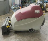 MULTI CLEAR UV22 ELECTRIC WALK-BEHIND FLOOR SWEEPER [RIGGING FEES FOR LOT #27 - $50 USD PLUS