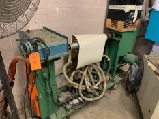 """ALLEN BRADLEY 24"""" SINGLE SHAFT WINDER WITH APPROX. 24"""" DIAMETER ROLL, S/N: N/A [RIGGING FEES FOR LOT"""