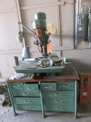 WALKER TURNER MODEL 65-250 BENCH-TYPE RADIAL ARM DRILL [RIGGING FEES FOR LOT #6 - $50 USD PLUS