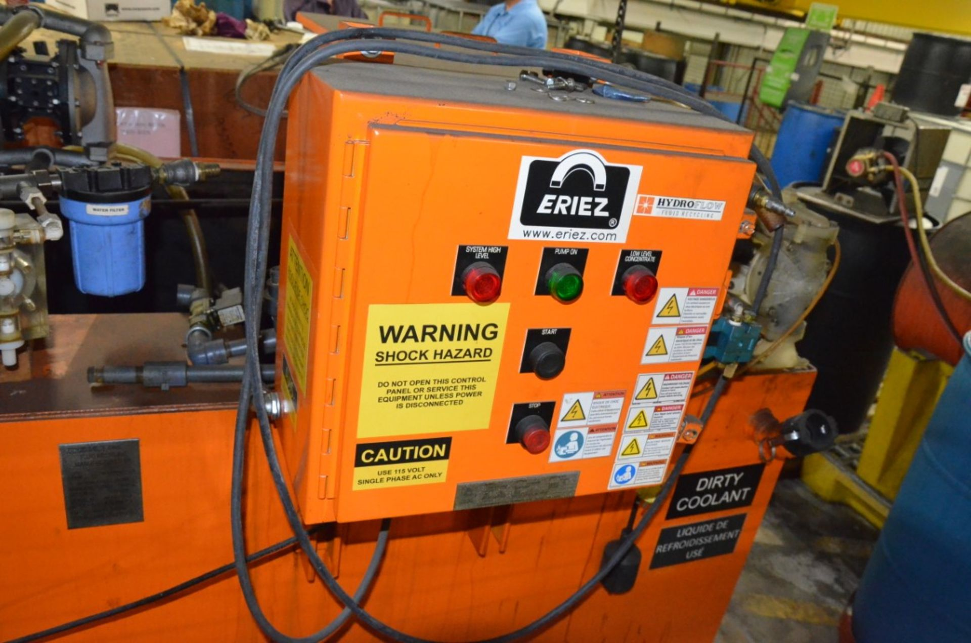 ERIEZ 120 SS MAGNETIC FILTRATION SYSTEM, S/N N/A - Image 4 of 6