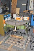 IRCO 1K6X6 TILT AND ROTATE WELDING POSITIONER WITH 1,000 LBS CAPACITY S/N 0749