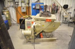 PANDJIRIS 30-6 48 TILT AND ROTATE WELDING POSITIONER WITH 3000 LBS CAPACITY, S/N 18309X04-38