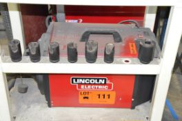 LINCOLN WELDING FUME EXTRACTOR, S/N N/A