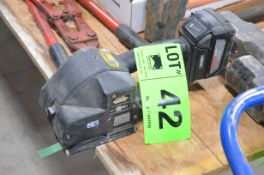 FROMM P329 CORDLESS STRAPPING TOOL, S/N N/A