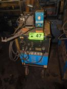 HOBART RC-250 PORTABLE MIG WELDER WITH HOBART 27 WIRE FEEDER, CABLES & GUN, S/N: 79WS22529
