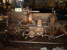 "HERBERT NO. 4 SENIOR PREOPTIVE TURRET LATHE WITH 12"" SWING OVER BED, 20"" BETWEEN CENTERS, 6"