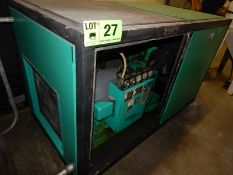 SULLIVAN PALATEK 40D ROTARY SCREW AIR COMPRESSOR WITH 40 HP, 10,151 HOURS (RECORDED AT TIME OF