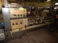 "K&N 16K25 ENGINE LATHE WITH 22"" SWING OVER BED, 64"" BETWEEN CENTERS, 2.25"" SPINDLE BORE, SPEEDS TO"