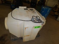 MET-PRO (2004) ME33 HORIZONTAL FUME SCRUBBER WITH 5300 CFM, 2.5 GAL/MIN PROCESSING CAPACITY, S/N: