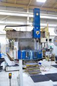 "OM VT5-16N CNC VERTICAL BORING MILL WITH FANUC 11-T CNC CONTROL, 72.74"" SWING, 63"" 4-JAW CHUCK, 63."