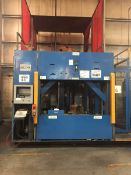 LOT/ OP 60 ABB-MILLER ROBOTIC WELDING CELL CONSISTING OF (2) ABB IRC-5 M2004 WELDING ROBOTS; WTC