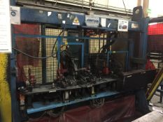 LOT/ OP 30 AUTOMATIC WELDING CELL CONSISTING OF (3) CENTERLINE AUTOMATIC SPOT WELDERS; WELDING