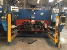 LOT/ CELL-26 ABB-FRONIUS ROBOTIC WELDING CELL CONSISTING OF (2) ABB IRB-1600 WELDING ROBOTS WITH ABB