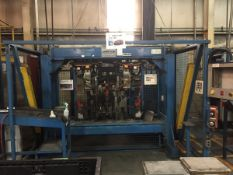 LOT/ OP 40 AUTOMATIC WELDING CELL CONSISTING OF (3) CENTERLINE AUTOMATIC SPOT WELDERS; WELDING