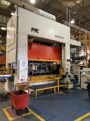 PTC MMP2-400-120X60 STRAIGHT SIDE PRESS WITH OMNILINK 806 MICROPROCESSOR CONTROL, 400 TON