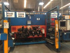 LOT/ CELL-13 ABB-FRONIUS ROBOTIC WELDING CELL CONSISTING OF (2) ABB IRB-1600 WELDING ROBOTS WITH ABB