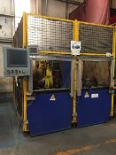 LOT/ OP 70 FANUC (2013) ROBOTIC WELDING CELL CONSISTING OF FANUC R2000-IB WELDING ROBOT; MILLER