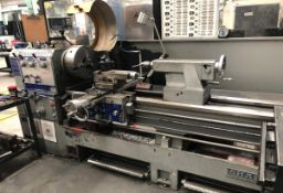 "SHARP (2014) 2680B HEAVY DUTY ENGINE LATHE WITH 26"" SWING OVER BED, 80"" BETWEEN CENTERS, 4.5"""