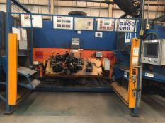 LOT/ CELL-23 ABB-FRONIUS ROBOTIC WELDING CELL CONSISTING OF ABB IRB-1600 WELDING ROBOT WITH ABB