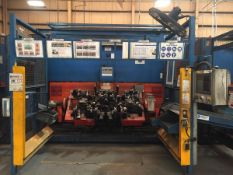 LOT/ CELL-15 ABB-FRONIUS ROBOTIC WELDING CELL CONSISTING OF (3) ABB IRB-1600 WELDING ROBOTS WITH ABB