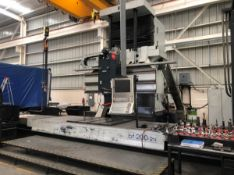PARPAS BF 200 2TI 5-AXIS CNC BED TYPE VERTICAL MACHINING CENTER WITH HEIDENHAIN TNC530 CNC