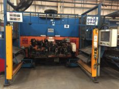 LOT/ CELL-11 ABB-FRONIUS ROBOTIC WELDING CELL CONSISTING OF (2) ABB IRB-1600 WELDING ROBOTS WITH ABB