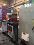 LOT/ CELL-19 ABB-FRONIUS ROBOTIC WELDING CELL CONSISTING OF (2) ABB IRB-1600 WELDING ROBOTS WITH ABB