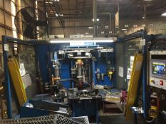 LOT/ OP 20 AUTOMATIC WELDING CELL CONSISTING OF (2) CENTERLINE AUTOMATIC SPOT WELDERS; WELDING