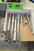 LOT/ TORQUE WRENCHES