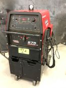 LINCOLN ELECTRIC 275 PRECISION TIG WELDER WITH CABLES AND GUN, 460-575V/1PH/60HZ, S/N: U1170608811