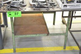 """48""""X48""""X1/2"""" STEEL WELDING TABLE, S/N: N/A"""