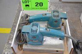 LOT/ ELECTRIC SANDERS