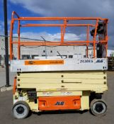 """JLG (2006) 2630ES ELECTRIC SCISSOR LIFT WITH 800 LB. CAPACITY, 312"""" MAX. HEIGHT, ON-BOARD CHARGER,"""