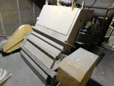 40 HP SCRAP BREAKER WITH DIVERTING CHUTE, S/N: N/A [RIGGING FEE FOR LOT #37 - $1000 USD PLUS