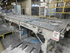 "LOT/ (3) PIECES OF ERMANCO XENOROL 21' X 18"" POWERED ROLLER CONVEYOR [RIGGING FEE FOR LOT #48 - $500"