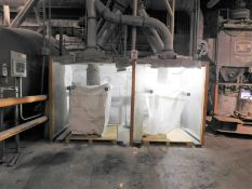 DUST BAG COLLECTION SYSTEM WITH SMALL CAGE MILL, S/N: N/A [RIGGING FEE FOR LOT #17 - $500 USD PLUS