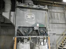CAMFIL FARR GS10 GOLD SERIES DOUBLE BAGHOUSE DUST COLLECTOR WITH 8,500CFM MAX. AIR VOLUME, S/N: