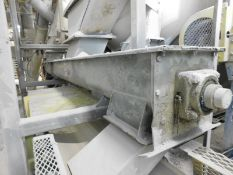 APPROX. 16' SCREW CONVEYOR, S/N: N/A [RIGGING FEE FOR LOT #22 - $400 USD PLUS APPLICABLE TAXES]